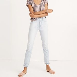 Madewell | Perfect Vintage Jean in Fitzgerald Wash